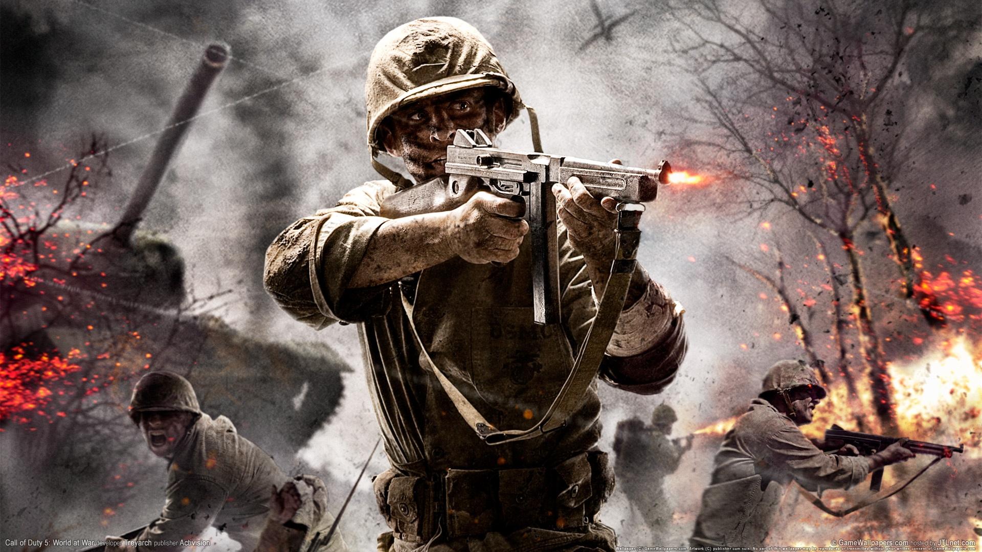 اموزش انلاین بازی کردن Call Of Duty 5 - World At War