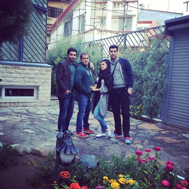 تازه ترین عکسهای جدید شهرام محمودی و سوگند خورشیدی