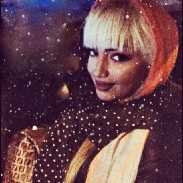عکس سلفی جدید مهسا کامیابی در آذر 93