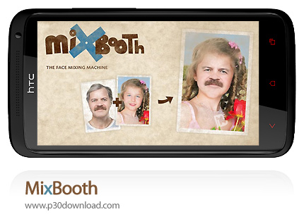 دانلود MixBooth - نرم افزار موبایل ترکیب چهره