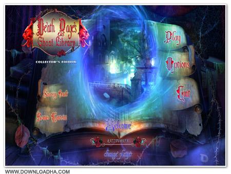 دانلود بازی Death Pages: Ghost Library برای کامپیوتر