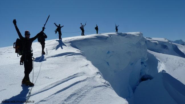 :اصول حرکت و گام برداری در برف و یخ