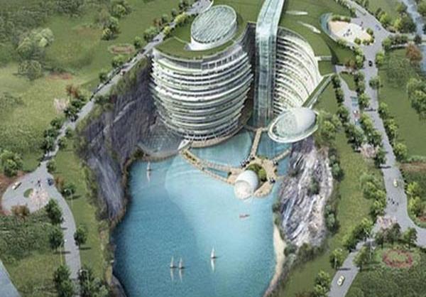 اولین هتل زیرزمینی جهان