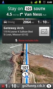 نرم افزار google map