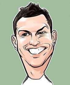 کاریکاتور جدید رونالدو