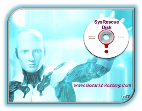 ESET NOD32 SysRescue 2013/08/19   دیسک نجات نود 32 1392/05/28