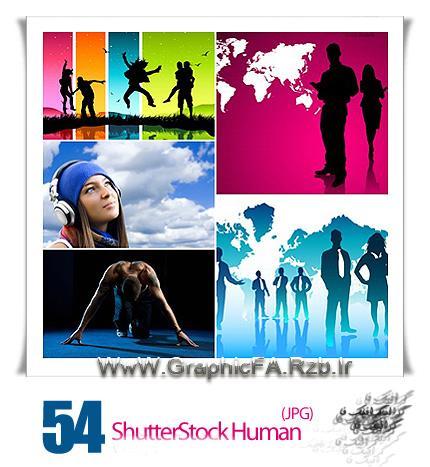 دانلود تصاویر شاتر استوک متنوع انسان ها - WWW.GraphicFA.Rzb.Ir