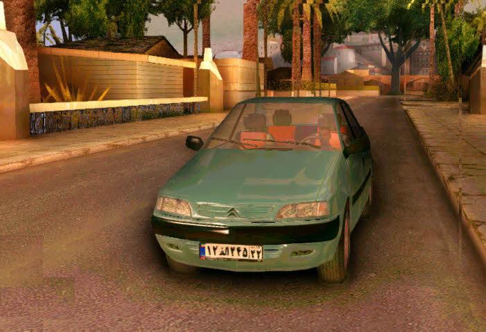 دانلود ماشین زانتیا برای جی تی ای5
