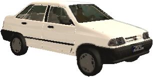 دانلود ماشین پراید برای جی تی ای5