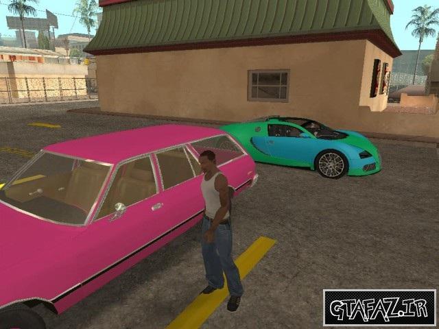 دانلود مود جدید سرقت ماشین های مثل بازی GTA IV برای جی تی آی 5