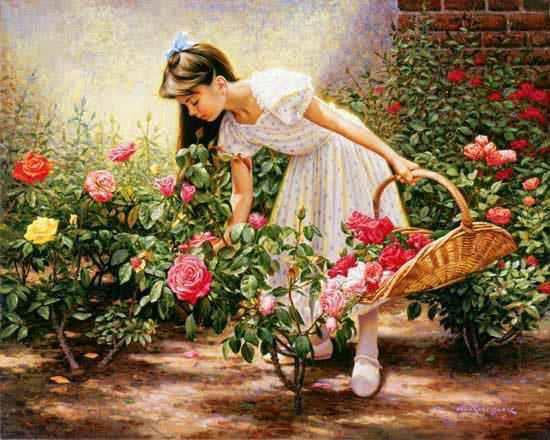گل را باید در آغوش کشید