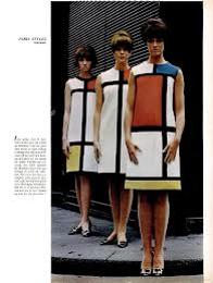 الگو گیری از سبک موندریان در طراحی پوشاک زنان