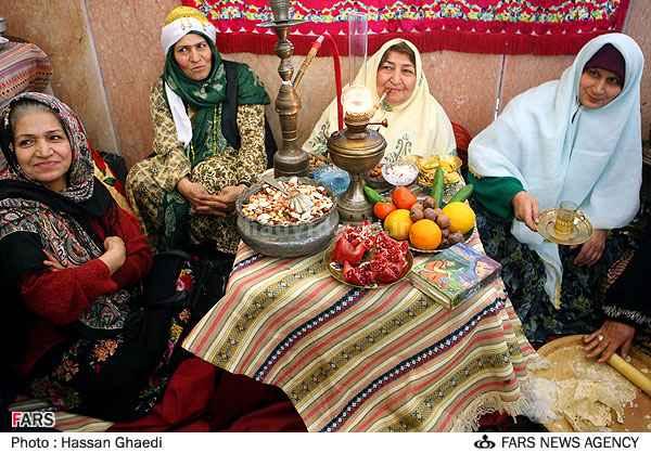 یلدای ایرانی،آوازه ی جهانی - سخن سوم: بررسی عمومی برگزاری شب یلدا در ایران