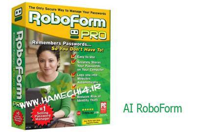 دانلود نرم افزار مدیریت پسووردها در اینترنت AI RoboForm Enterprise v7.8.9.5