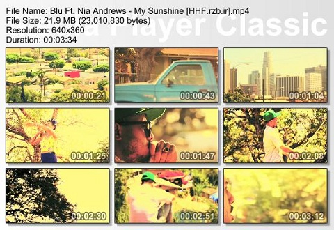 Blu Ft. Nia Andrews - My Sunshine