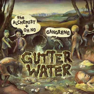Gangrene - gutter water