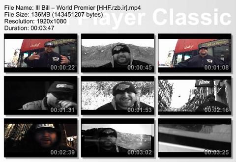 ill bill - world premier