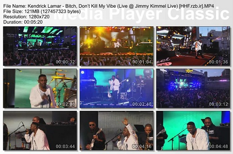 (Kendrick Lamar - Bitch, Don't Kill My Vibe (Live @ Jimmy Kimmel Live