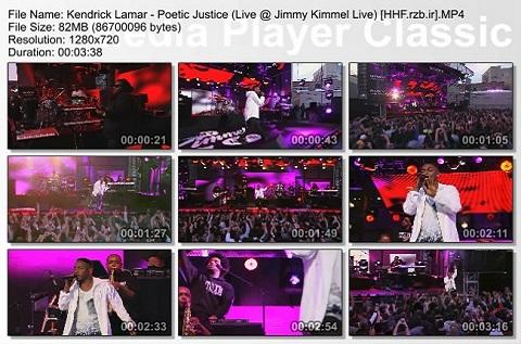 (Kendrick Lamar - Poetic Justice (Live @ Jimmy Kimmel Live