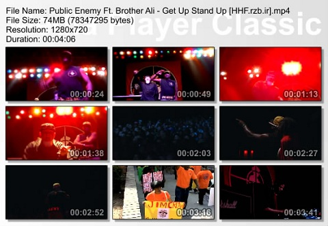 Public Enemy Ft. Brother Ali - Get Up Stand Up