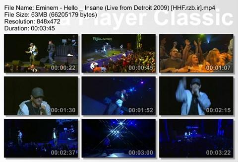Eminem - Hello _ Insane (Live from Detroit 2009