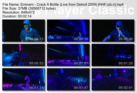 Eminem - Crack A Bottle (Live from Detroit 2009
