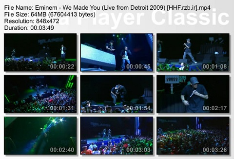 eminem - concert in detroit