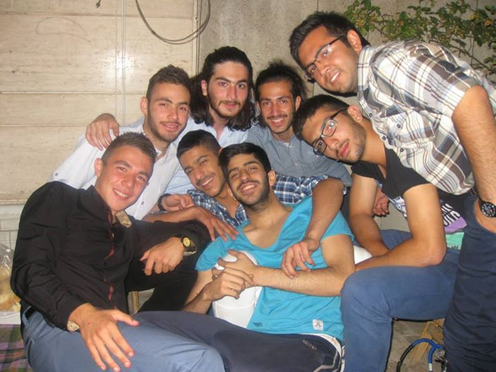 شب تولد + دوستان + شادی