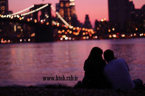 عکس رمانتیک از دختر و پسر عاشق