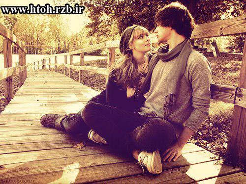 عکس عاشقانه دختر وپسر
