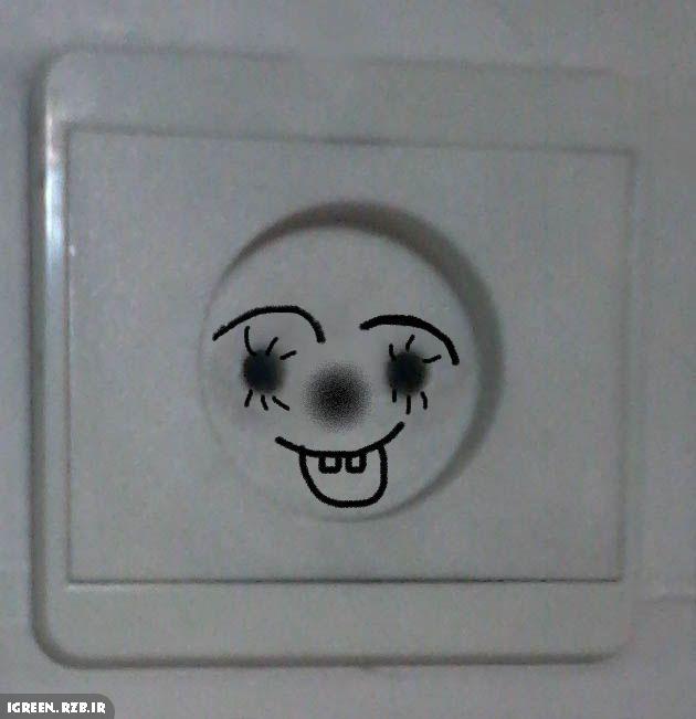 عکس بامزه پریز برق(1)