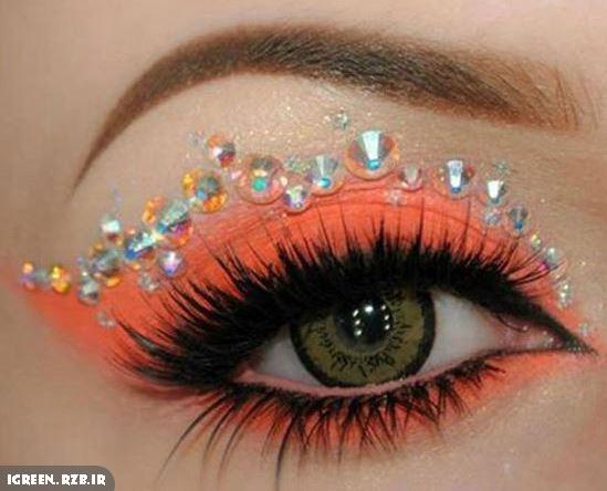 مدلهای مختلف و زیبا آرایش چشم