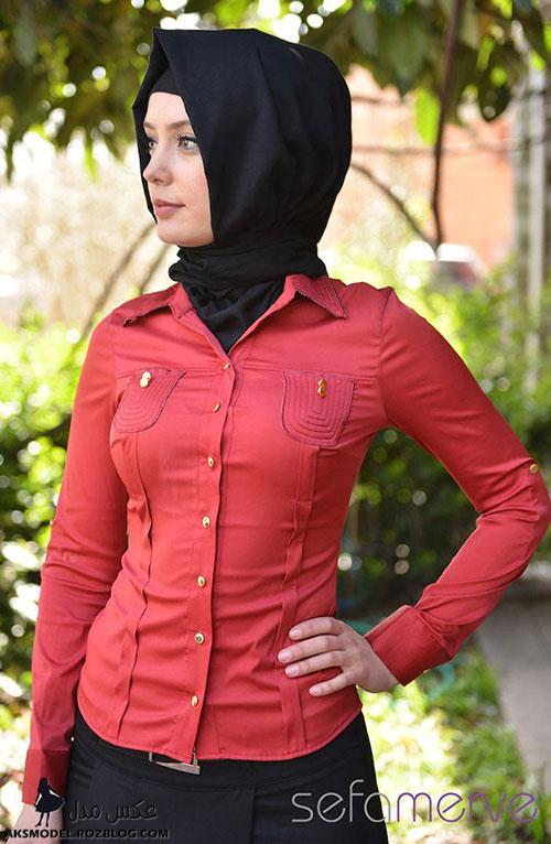 مدل جدید پیراهن مجلسی ترک دخترانه پاییزی جدید 92