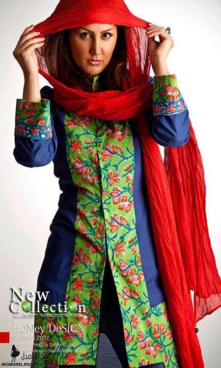 مدل های جدید مانتو سنتی ایرانی زنانه 92