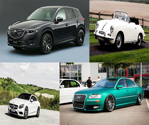 جدیدترین و بهترین عکس ها از ماشین های مدل بالا