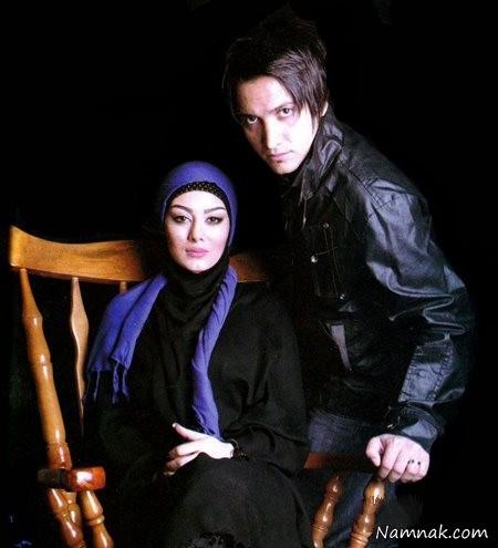عکس سحر قریشی در کنار همسرش