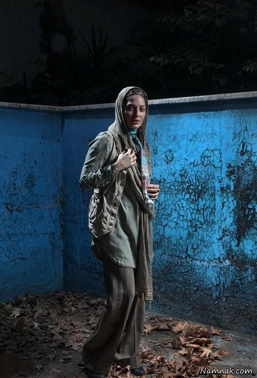 عکس مهناز افشار در استخر