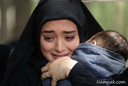 عکس نرگس محمدی در سریال ستایش