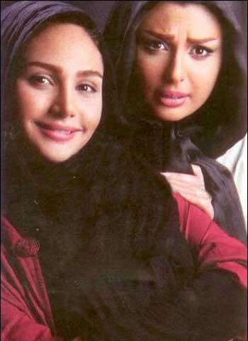 عکس نیوشا ضیغمی با خواهرش