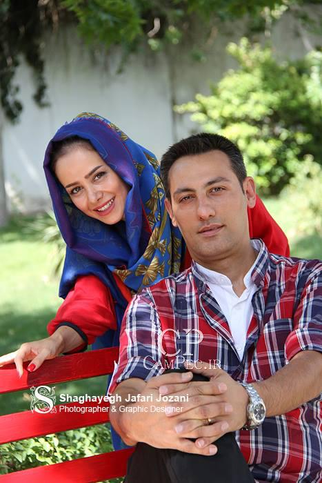 عکس زیبای الناز حبیبی و همسرش