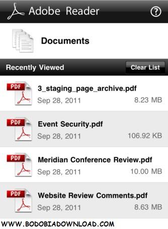 adobe pdf reader for mobile phones