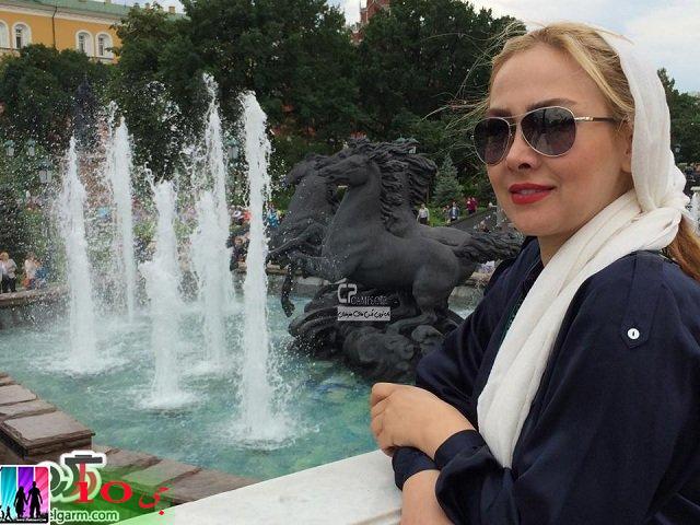 عکسهای جدید و دیدنی آنا نعمتی در مسکو-روسیه/سری دوم
