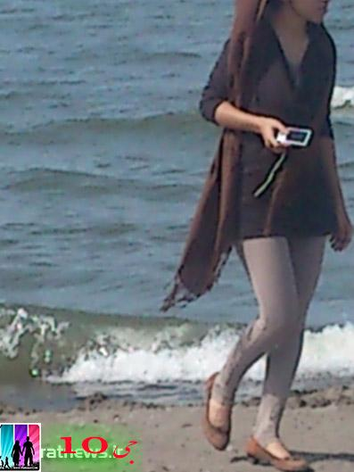 بي حجابي و اختلاط در سواحل شمالي كشور