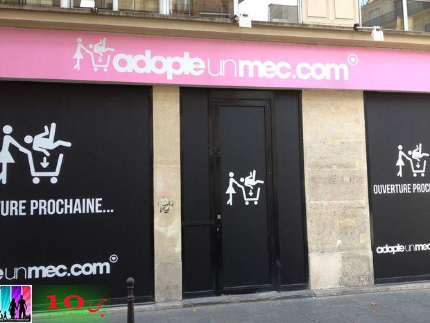 فروشگاه فروش پسران به زنان مجرد در پاريس + عكس ها