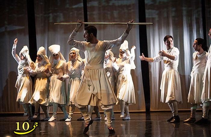 عکس/ رقص موزون مختلط در تالار وحدت