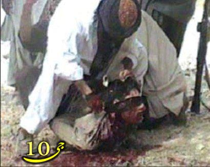 عکس هولناک از  سربریدن داعش