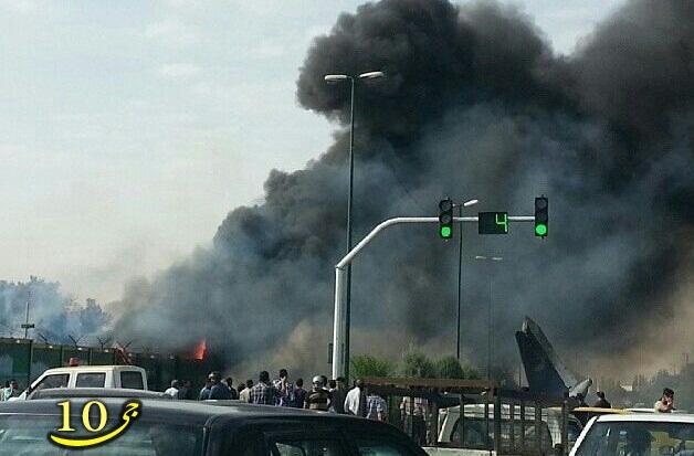 فوری/ سقوط یک فروند هواپیما در فرودگاه مهرآباد/ تا این لحظه؛ کشته شدن 42 مسافر/ 3 نفر مجروج تا این لحظه/ جدا شدن یکی از بالهای هواپیما بر فراز خ