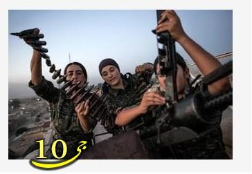 ترس داعش از زنان کرد