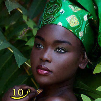 زیبا ترین دختر سیاه پوست آفریقایی
