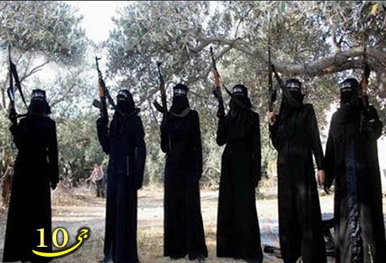 آشنایی با 7 زن خطرناک داعش   تصاویر
